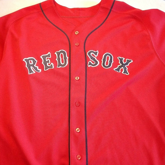 Majestic Other - MLB Majestic Authentic BOSTON RED SOX JERSEY